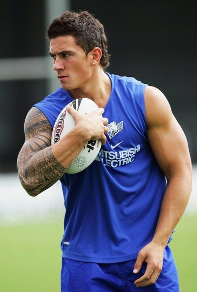 Sonny Bill Williams...New Zealand rugby. I can work with that.