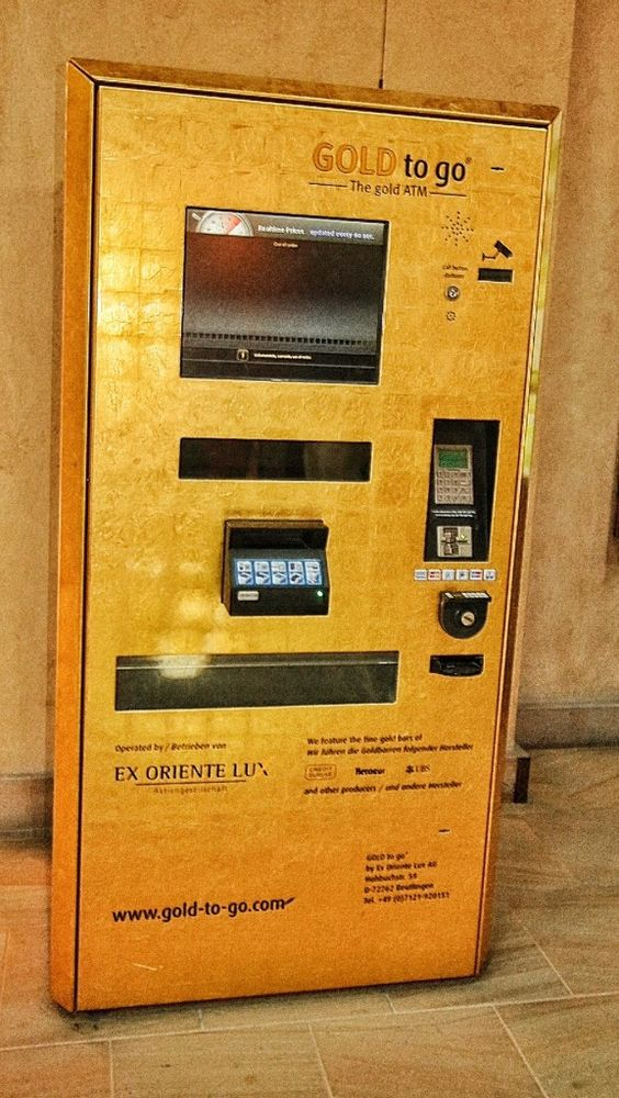 Dubai Gold ATMS : Only in Dubai !!! Read the Blog on how to spend 3 days in Dubai #Dubai #Travel