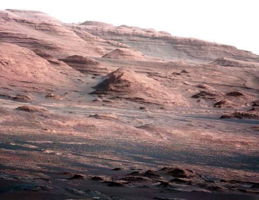 Mars Rover Curiosity  - Color photos
