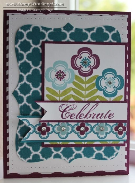 Madison Avenue & Feeling Sentimental stamp sets from Stampin' Up!