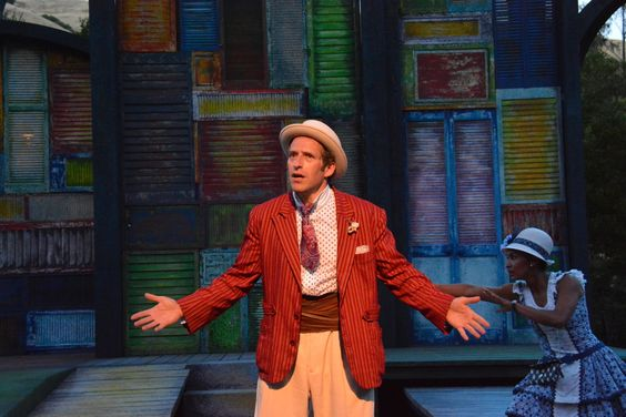 Adrian Danzig at the The Comedy of Errors dress rehearsal (6/24). Photo by Jay Yamada.