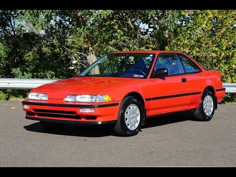 1990 Acura Integra Rs Acura Integra Acura Oldsmobile