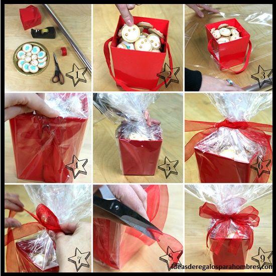 Derecha Ahora Partes Del Cuadro De Regalos Originales Para San Valentín Hechos A Mano Que Enamoran Le Damo Cookie Decorating Gift Wrapping Sweet Valentine