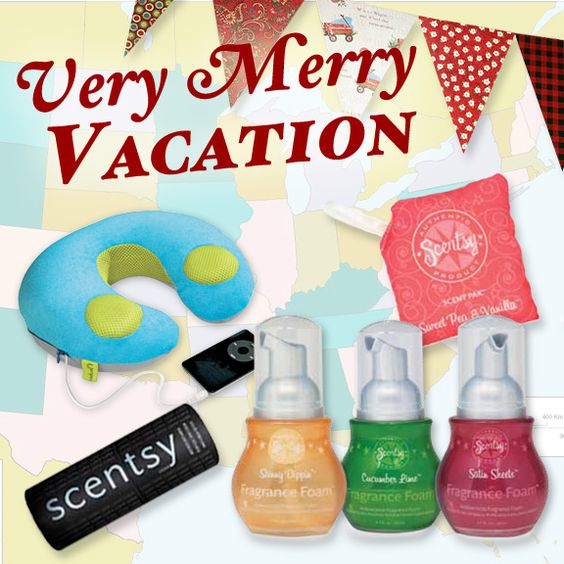Scentsy Solid Perfume, Scent Pak, and Fragrance Foam! All TSA friendly items for the travelers in your lives:) www.scentsy.net