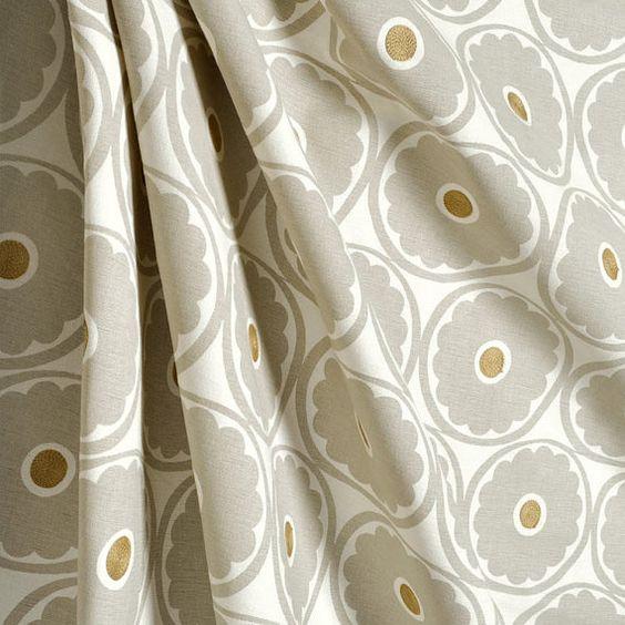 Pair of designer curtain drapery panels LINED by kirtamdesigns, $700.00