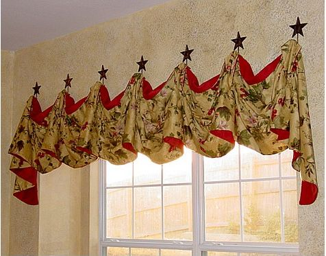 Curtains Ideas butterfly valance curtains : Victory Valance Sewing Instructions | For the Home | Pinterest ...