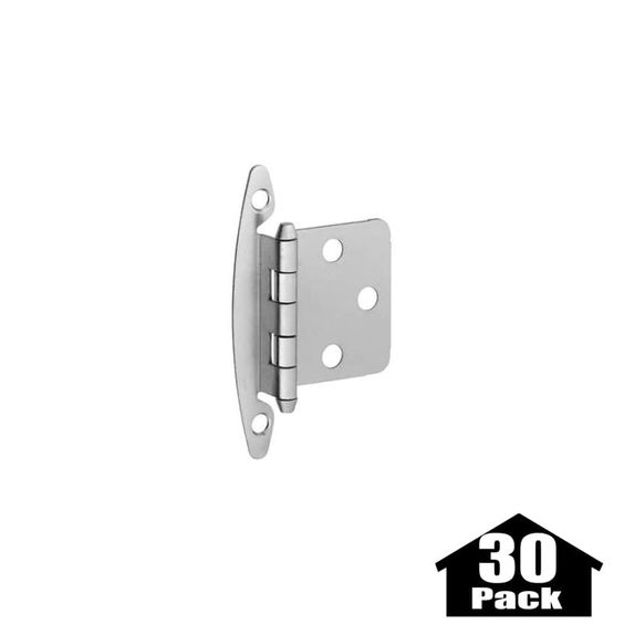 Superior Stanley Home Designs BB8196 30PACK 2.75 Inch Flush Non Spring Cabinet Hinge    30