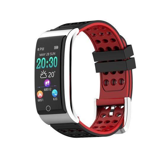Smartwatch Smart Armband Fitness Tracker Pulsuhr IP68 Blutdruck für Android IOS