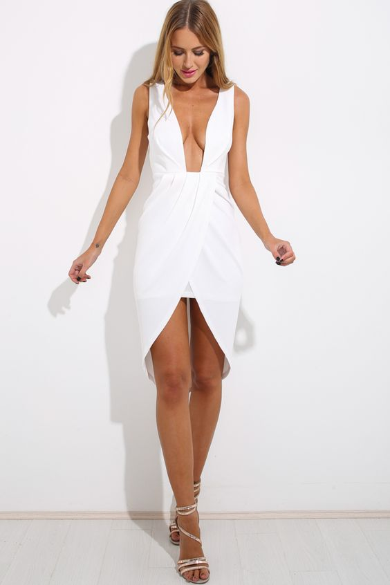 Witch Hunt Dress, White, $59 + Free express shipping http://www.hellomollyfashion.com/witch-hunt-dress-white.html