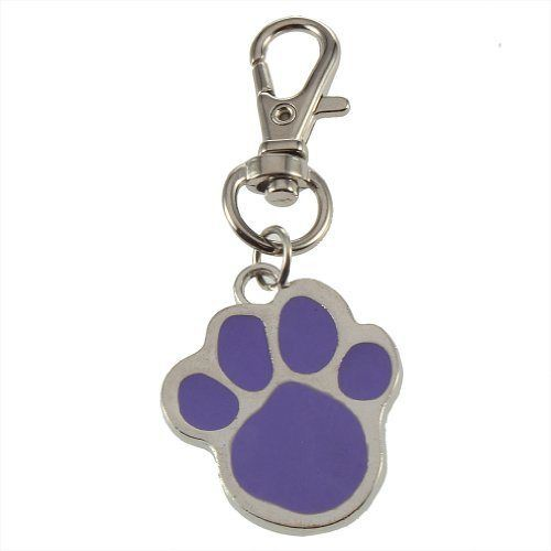 TOOGOO(R) Cute Stainless Steel Foot Print Engraved Puppy Pet Dog Cat ID Name Tags - http://www.thepuppy.org/toogoor-cute-stainless-steel-foot-print-engraved-puppy-pet-dog-cat-id-name-tags/