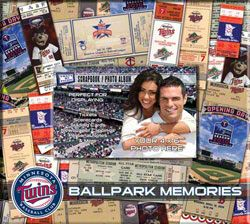 Minnesota Twins Scrapbook & Photo Album $22.99 http://www.fansedge.com/Minnesota-Twins-Scrapbook-Photo-Album-_-1512070658_PD.html?social=pinterest_pfid47-18915