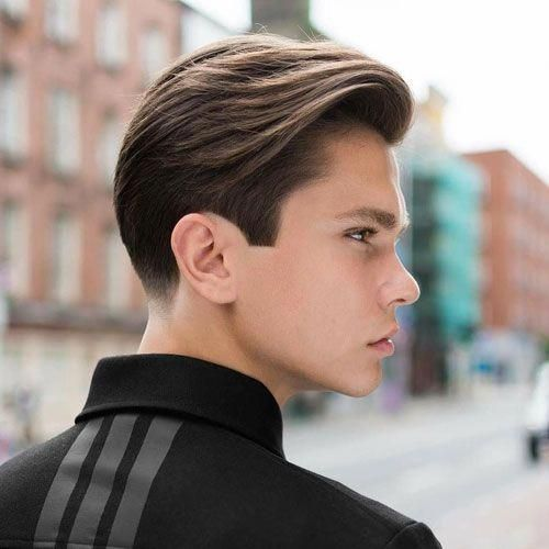 25 Cute Hairstyles For Guys To Get In 2020 Boy Hairstyles Long Hair Styles Mens Hairstyles