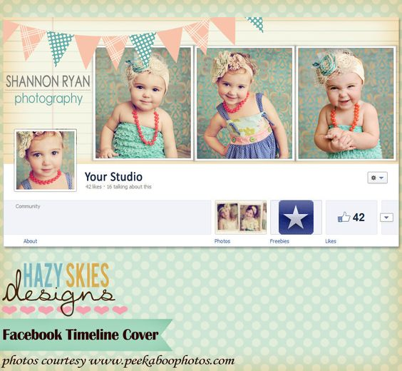 Facebook Timeline Cover Templates for Photographers #facebook