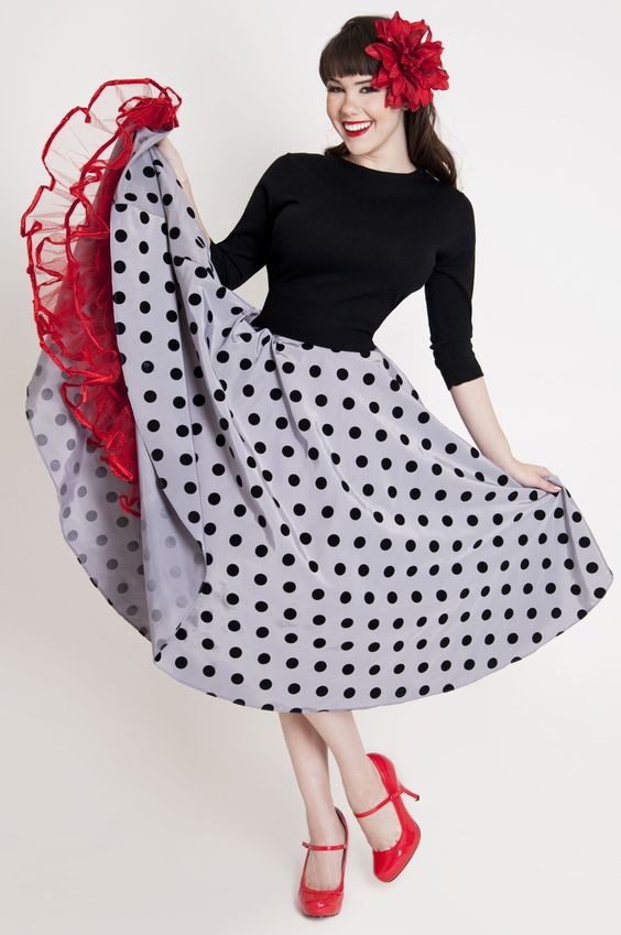 8 Ball Circle Skirt | Bettie Page Clothing