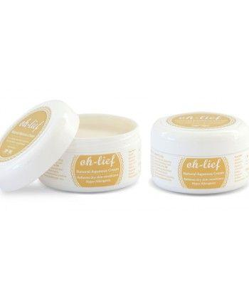 Oh-lief crema natural acuosa para pieles con problemas