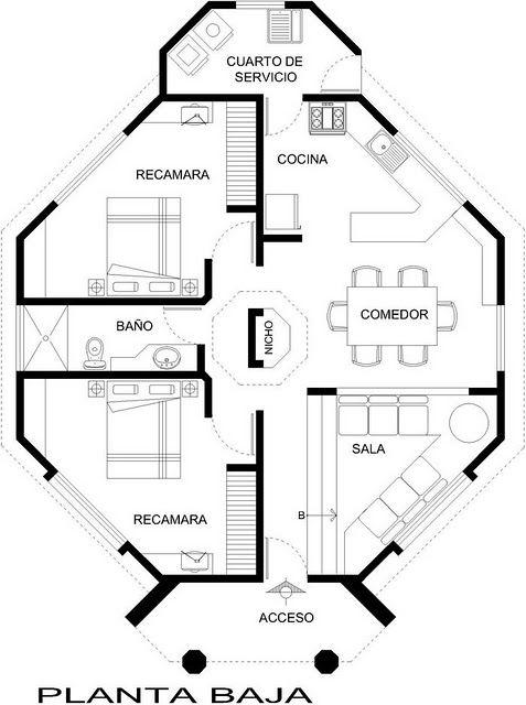 Planos de casas feng shui gratis buscar con google for Planos de cocinas feng shui