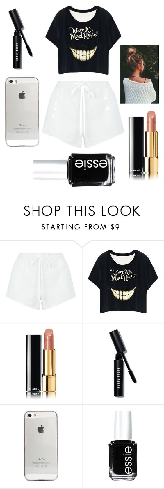 """""""Morning ;)"""" by revivalxgirls on Polyvore featuring mode, Chloé, Chanel, Bobbi Brown Cosmetics, Agent 18 et Essie"""