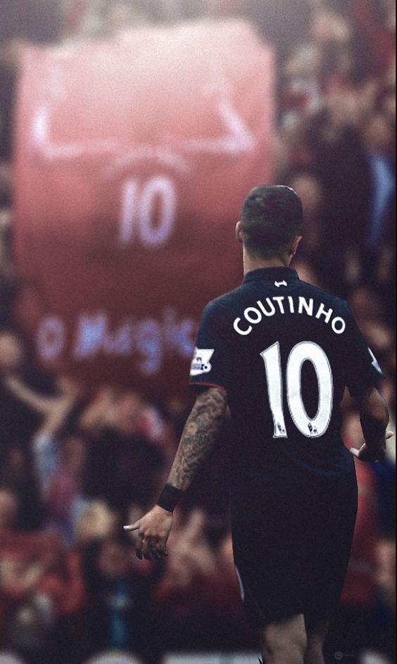 ♠ Philippe Coutinho #LFC #Artwork
