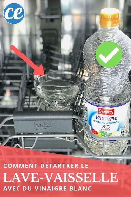 Comment Detartrer Votre Lave Vaisselle Facilement Avec Du Vinaigre