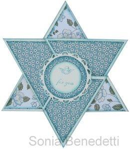 Fiche technique: Carte étoile - Sonia - démonstratrices Stampin'Up! ® en Normandie