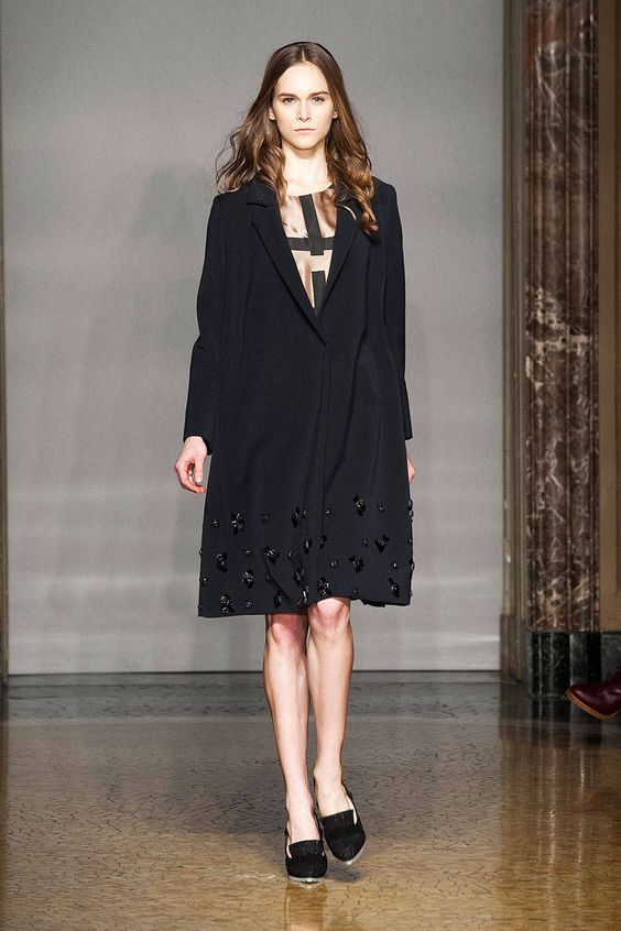 Chicca Lualdi Beequeen Fall 2014 Ready-to-Wear Runway - Chicca Lualdi Beequeen Ready-to-Wear Collection