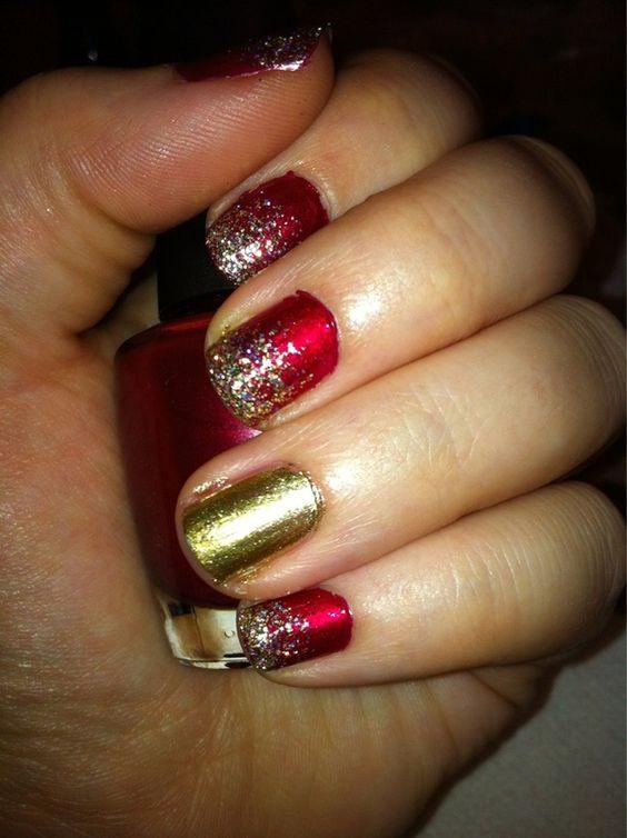 Holiday Nails take 2