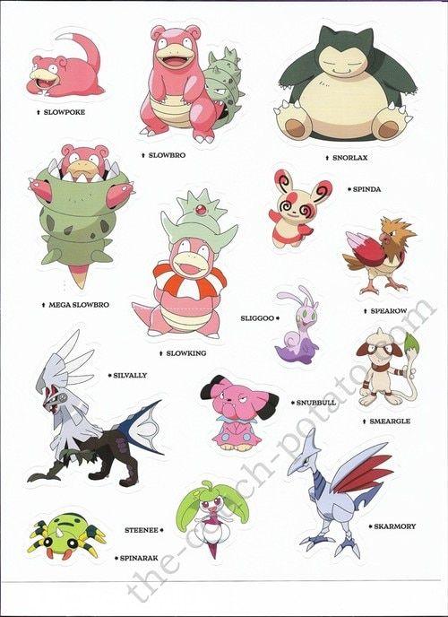 Pokemon Alola Stickers 7002 Pokemon Alola Pokemon Pokemon Pictures