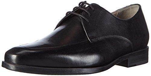 Clarks Amieson Lace, Herren Derby Schnürhalbschuhe, Schwarz (Black Leather), 39.5 EU (6 Herren UK) - http://on-line-kaufen.de/clarks/39-5-eu-clarks-amieson-lace-herren-derby-schn