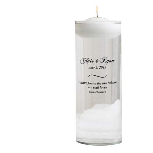 HomArt Unscented Parrafin Wax Pillar Candle Ivory Color