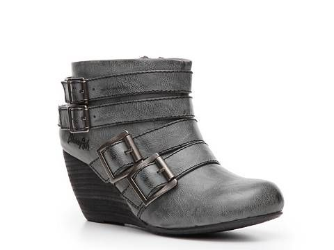 Blowfish Bicker Wedge Bootie Ankle Boots & Booties Women's Boot ...