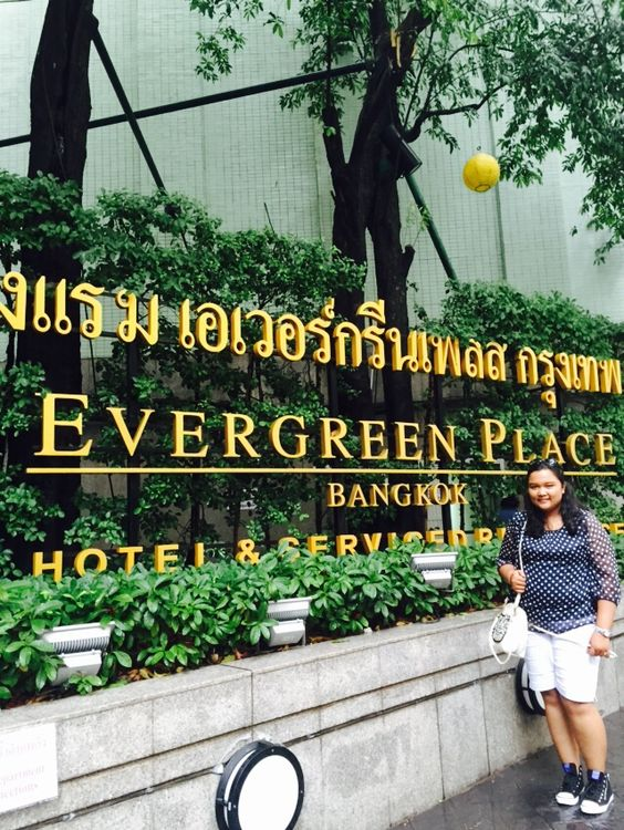 Evergreen place hotel! Yeaay