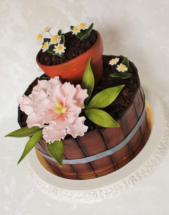 Another variation on the theme garden - Cake by Kateřina Lončáková