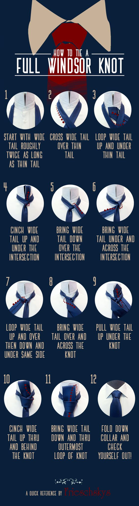 Learn how to tie a Full Windsor knot like a pro!