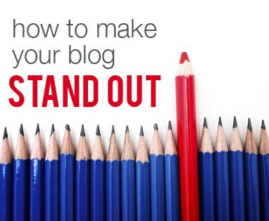 How to make your blog stand out, at MomComm