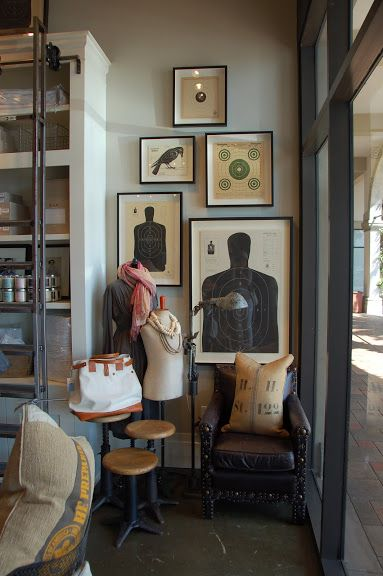 Shooting targets in a gallery wall cheap wall art for an