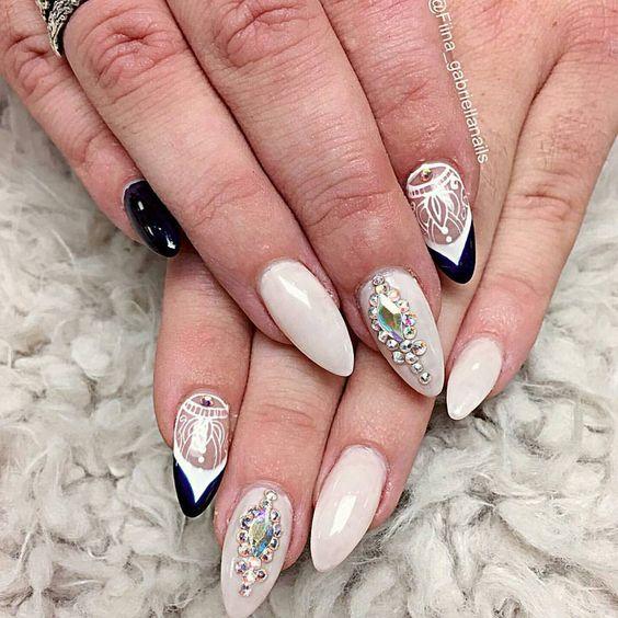#fiina_GabrielaNails #nailitmagazine #nailprodigy #nailedit #guccifiina #fiina_naillounge #happy #nails #fashion #style #hudabeauty  #beauty #pretty #stylish #sparkles #styles #glitter #nailart #opi #essie #unhas #preto #branco  #love #shiny #polish #nailpolish #nailswag #anastasiabeverlyhills #vegas_nay