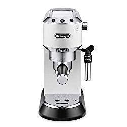 Delonghi Ec685 W Dedica 15 Bar Pump Espresso Machine Coffee Maker 220 Volts Not For Usa European Cord White Best Espresso Machine Espresso Machine Cappuccino Machine
