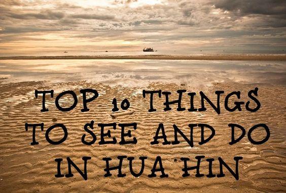 Top Things To Do in Hau Hin, Thailand