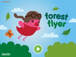 Sago Mini Forest Flyer, une appli réussie pour les tout-petits