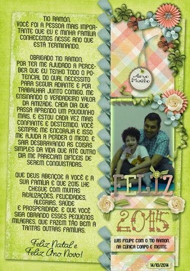 Luiza Pires: Feliz Natal e Feliz 2015