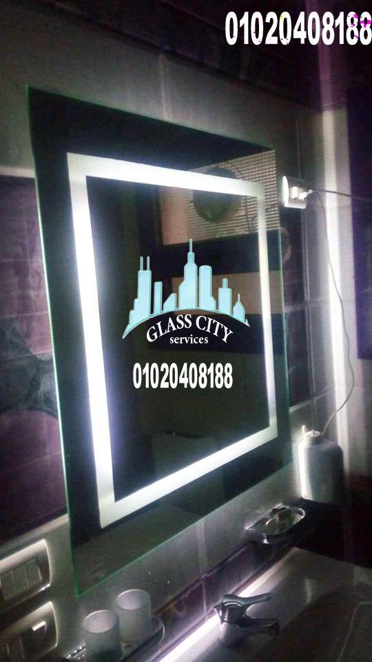 ديكورات حمام من مرايا ليد Glass Flatscreen Tv Electronic Products