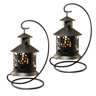 Shop for Tabletop Metal Lantern Black (2 Count). Free Shipping on orders over…