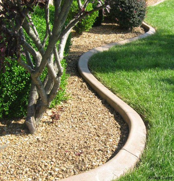 Garden edging strip