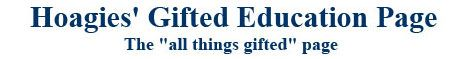 One of the most comprehensive and especially 'deep' sites regarding all things gifted.