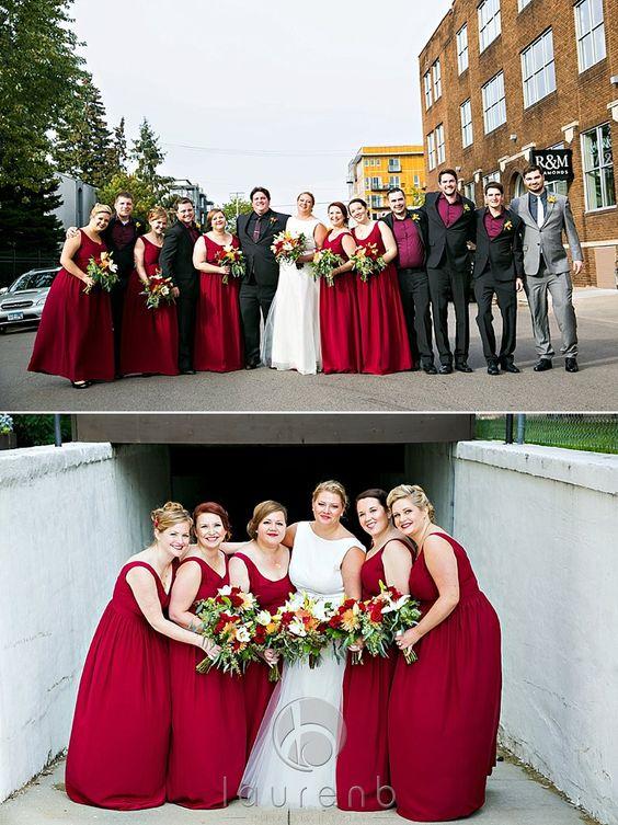Courtney and Ken - Minneapolis Wedding Durga-Kali bridesmaid ...