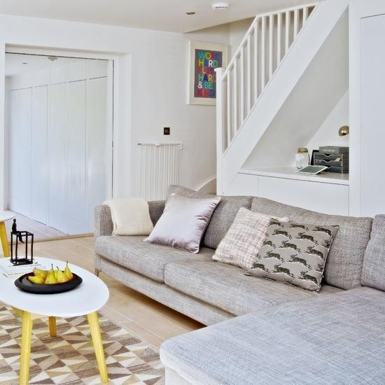 54 Awesome Big Living Room Design Ideas With Stairs Roundecor Stairs In Living Room Staircase In Living Room Big Living Room Design