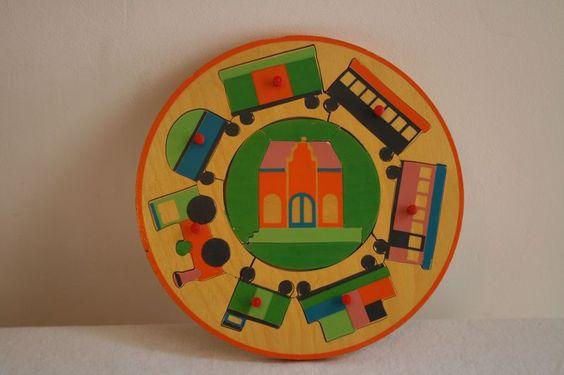 Vintage Dutch puzzle - 60s