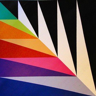 Max Bill*untitled schwarz pink*zugeschnitt.Ed.1989/90*Zürcher Schule d.Konkreten
