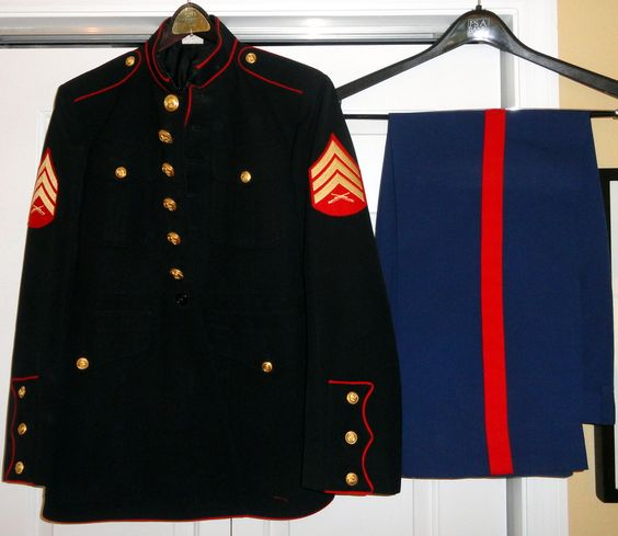 My dress blues uniform