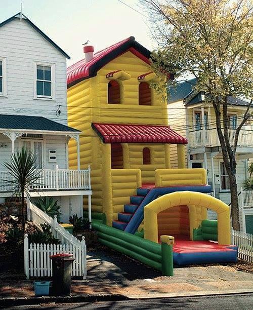 Hüpfburghaus - Das Haus für die Kinder...